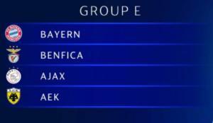 Champions League: Το πρόγραμμα της ΑΕΚ στους Ομίλους! Ημέρες και ώρες των αγώνων [pic]