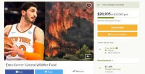 Σημαντική βοήθεια εκ… Τουρκίας για την Ελλάδα! Ο Καντέρ συγκέντρωσε χρήματα για τους πληγέντες [pic]