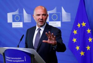 """Ιταλία: Κόντρα κυβέρνησης – Μοσκοβισί μετά τις δηλώσεις του Ευρωπαίου Επιτρόπου για """"μικρούς Μουσολίνι"""""""