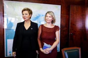 Δυο κυρίες στο υπουργείο – Γεροβασίλη και Παπακώστα παρέλαβαν το Προστασίας του Πολίτη [video]