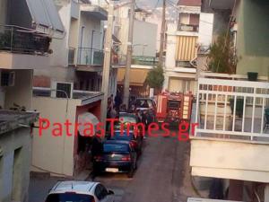 Πάτρα: Φωτιά σε σπίτι στην οδό Νικήτα