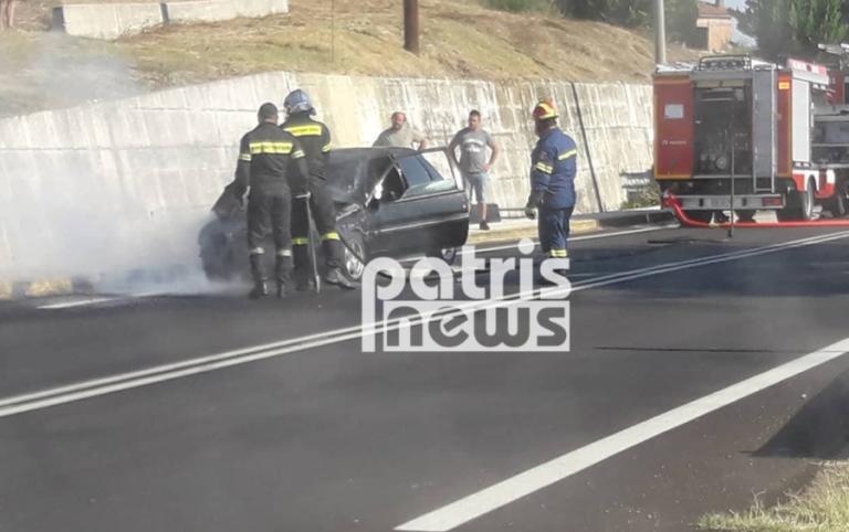 Πύργος: Η απόφαση της νεαρής οδηγού αποδείχθηκε σωτήρια – Βγήκαν ζωντανοί από το φλεγόμενο αυτοκίνητο | Newsit.gr