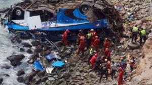 Λεωφορείο σε χαράδρα – 15 νεκροί και 25 τραυματίες