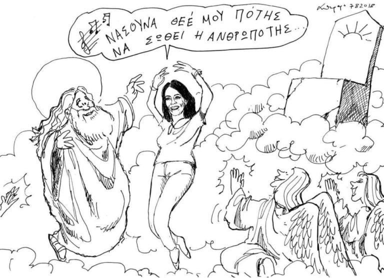 Ρίκα Βαγιάνη: Τα συγκλονιστικά λόγια του Σταύρου Θεοδωράκη και το εκπληκτικό σκίτσο
