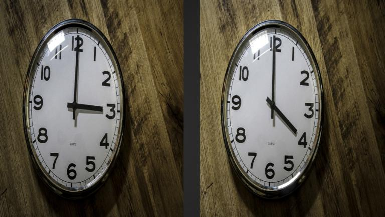 «Θέλετε να σταματήσει η αλλαγή ώρας; Ψηφίστε»!