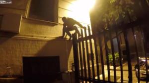 Ρουβίκωνας: Μπήκαν ανενόχλητοι στο υπουργείο Εξωτερικών, άφησαν τσάντα κι έφυγαν – video