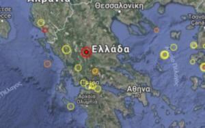 Σεισμός τώρα αισθητός σε Τρίκαλα και Λάρισα – τι καταγράφουν οι σεισμογράφοι