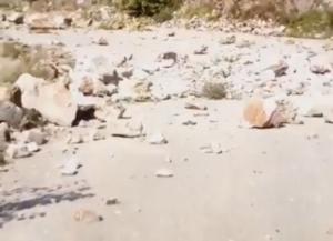 Σεισμός: Οι πρώτες εικόνες από τις κατολισθήσεις στην Καρδίτσα – Ρωγμές σε σπίτια και εγκλωβισμένοι οδηγοί – video
