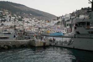 Ύδρα: Αναλαμβάνει δράση η Υδροφόρα ΣΤΥΜΦΑΛΙΑ του Πολεμικού Ναυτικού