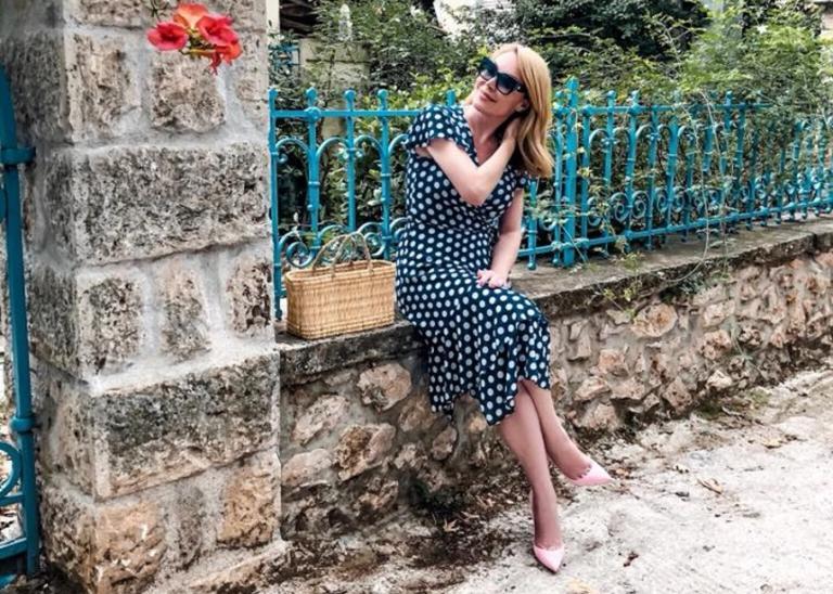 Τατιάνα Στεφανίδου: Το ηλιοβασίλεμα που τη μάγεψε | Newsit.gr