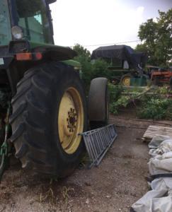 Αγρότης καταπλακώθηκε από το τρακτέρ του και σκοτώθηκε