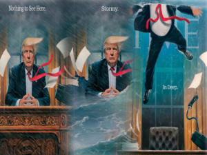Ο Τραμπ παλεύει να μείνει «ζωντανός» στο Οβάλ Γραφείο – Το TIME τον ρίχνει… στα βαθιά