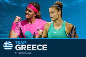 Απίθανο ματς για την Ελλάδα! Τσιτσιπάς και Σάκκαρη θα αγωνιστούν επίσημα σε διπλό – video