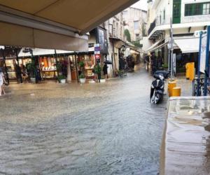 Πλημμύρισαν τα Χανιά [pics]