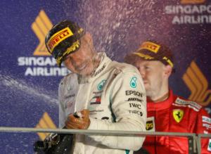 Formula 1: Δεν έχει αντίπαλο ο Χάμιλτον! Πρώτος και στη Σιγκαπούρη
