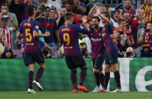 Champions League, Μπαρτσελόνα – Αϊντχόβεν 4-0! «Μεσσί-ας» και φέτος στο Καμπ Νου – videos
