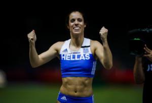 Δεύτερη με ρεκόρ αγώνων η Κατερίνα Στεφανίδη!