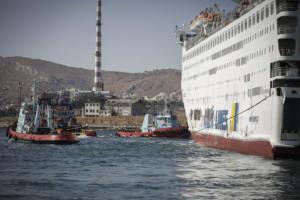 """Μήνυση στον Άρειο Πάγο για τη φωτιά στο """"Ελευθέριος Βενιζέλος""""! """"Τρίτη φορά φλέγεται καράβι της εταιρείας"""""""