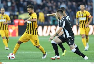 ΠΑΟΚ – Άρης 1-1 ΤΕΛΙΚΟ – Ισόπαλο το ντέρμπι της Θεσσαλονίκης