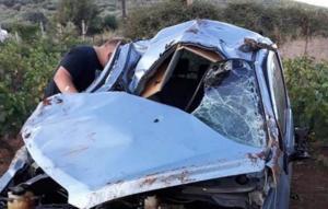 Φθιώτιδα: Σκοτώθηκε 16χρονος μαθητής με το αυτοκίνητο του πατέρα του – Σκληρές εικόνες στο σημείο του τροχαίου [pics]