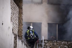 Μεγάλη φωτιά στο Μοναστηράκι [pics]