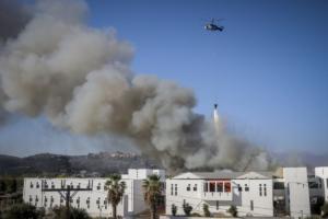 Μετρήσεις τοξικότητας στον αέρα μετά τη φωτιά στο Πανεπιστήμιο Κρήτης! Φόβοι για σχολεία και νοσοκομεία!