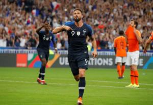 Εθνική Γαλλίας: Ο Ζιρού ξεπέρασε τον Ζιντάν! video