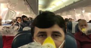 Μέσα στο αεροπλάνο του τρόμου! Έτρεχε αίμα από τις μύτες και τα αυτιά επιβατών [video]
