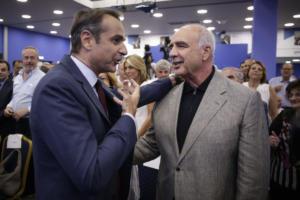 Επικεφαλής στο ευρωψηφοδέλτιο της ΝΔ ο Βαγγέλης Μεϊμαράκης