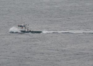Αλλαγή σχεδίου λόγω καιρού – Στη Σίφνο ρυμουλκείται το φορτηγό πλοίο με τη μηχανική βλάβη