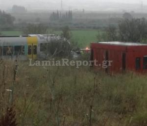 Λαμία: Θανατηφόρα σύγκρουση τρένου με αυτοκίνητο
