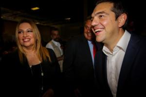 """Το ευρωπαϊκό """"προξενιό"""" Τσίπρα – Γεννηματά και η συνεργασία ΣΥΡΙΖΑ – ΚΙΝΑΛ"""