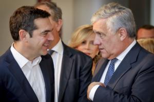 Μεταμνημονιακή Ελλάδα, Δεξιά και Ευρωεκλογές, στις επαφές Τσίπρα στο Στρασβούργο