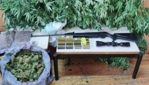 Κρήτη: Τον έπιασαν με 2,5 κιλά χασίς και όπλα