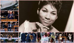 Αρίθα Φράνκλιν: Το αντίο που θα ονειρευόταν! Κηδεία δίχως προηγούμενο για την «βασίλισσα της soul» – video, pics