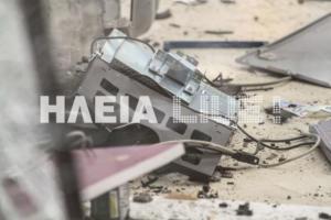 Πύργος: Ανατίναξαν ATM τα ξημερώματα – Καλά «διαβασμένοι» οι δράστες