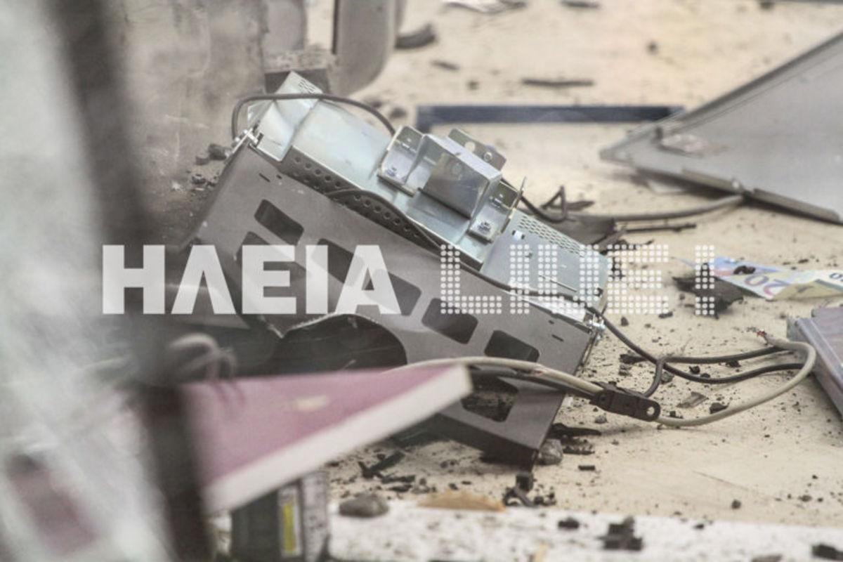 Πύργος: Ανατίναξαν ATM τα ξημερώματα – Καλά «διαβασμένοι» οι δράστες   Newsit.gr