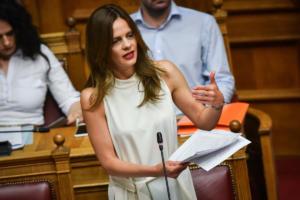 Αχτσιόγλου: Το σχέδιο του Κυριάκου Μητσοτάκη για την κοινωνική ασφάλιση είναι βαθιά αντικοινωνικό