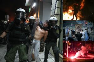 """ΔΕΘ: Ακροδεξιοί """"βανδάλισαν"""" την Θεσσαλονίκη! 8 συλλήψεις – Ανάμεσα τους μία ανήλικη – video"""