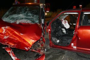 Λάρισα: Σοβαρό τροχαίο με τρία αυτοκίνητα! 4 άνθρωποι τραυματίστηκαν – Απίστευτες εικόνες