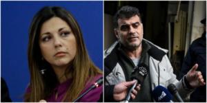 """Καταγγελία ΝΔ: Ο Βαξεβάνης ζήτησε τη σύλληψη της Ζαχαράκη! """"Πόλεμος"""" με το υπ. Προστασίας του Πολίτη"""