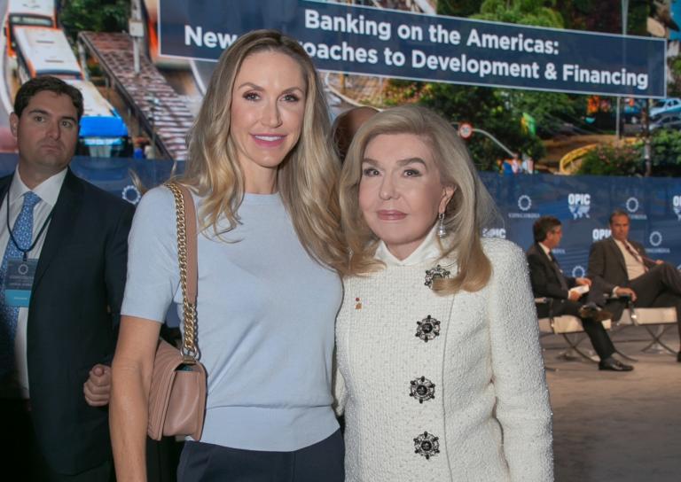 Μαριάννα Βαρδινογιάννη: Η συνάντηση με την νύφη του Donald Trump, Lara Trump! | Newsit.gr