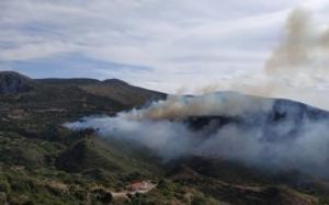 Σε πύρινο κλοιό η Κεφαλονιά – Η φωτιά καίει σε τέσσερα μέτωπα – video