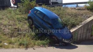 Λαμία: Αυτοκίνητο έκανε βουτιά κάτω από γέφυρα