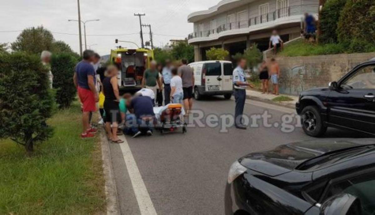 Αυτοκίνητο παρέσυρε μαθητή στη Λαμία -video