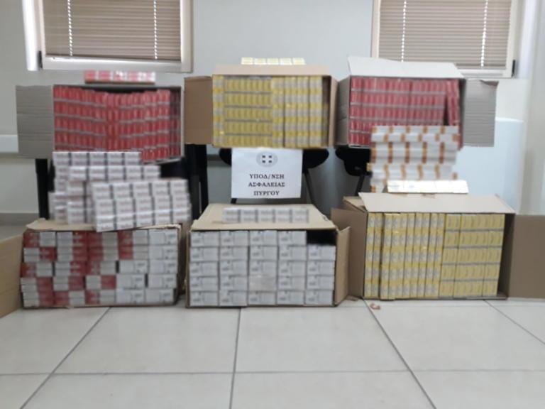 Τρεις συλλήψεις στη Γαστούνη για χιλιάδες πακέτα με λαθραία τσιγάρα | Newsit.gr