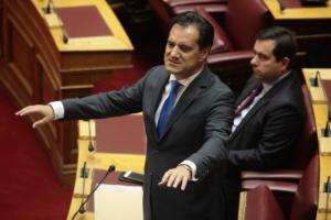 Γεωργιάδης: «Ο Τσίπρας απέτυχε σε όλα και το μόνο που του μένει είναι να παίξει το χαρτί της λάσπης»