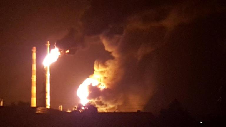 Έκρηξη και φωτιά σε διυλιστήριο στη Γερμανία – video