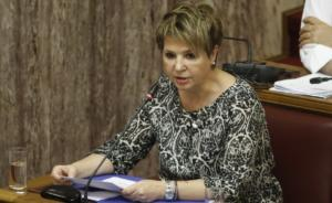 Γεροβασίλη: Η ΝΔ δραματοποιεί την κατάσταση για να παρουσιάσει έξαρση της εγκληματικότητας