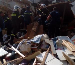 Γιάννενα: Πέθανε ο ιδιοκτήτης του σπιτιού που ισοπεδώθηκε από ισχυρότατη έκρηξη – Υπέκυψε στα τραύματά του [pics, video]